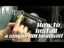 Embedded thumbnail for Holden VT,VX Single DIN Install Video